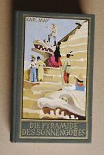 R90867 Karl May - Die Pyramide des Sonnengottes - 290. Tausend - 1951