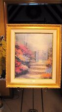GARDEN of PROMISE by THOMAS KINKADE Studio Proof Lithograph on Canvas: #30 of 95