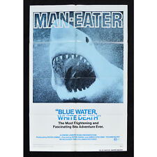 """Blue Water, White Death"" 1974 1SH One Sheet Poster (Sharks)"