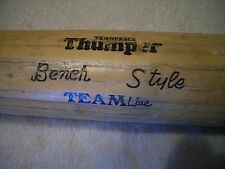 "31"" BENCH STYLE WORTH #500LT LITTLE LEAGUE BASEBALL BAT FOR DISPLAY, READ!"
