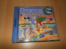 SEGA DREAMCAST DISNEY WORLD QUEST MAGICAL RACING TOUR ottime UK PAL