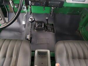Toyota Land Cruiser  Floor Mat FJ40 FJ43 FJ45 BJ40  1979-1984.