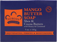 Body Butter Soap by Nubian Heritage, 5 oz 2 pack