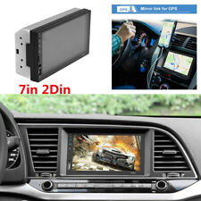 MP5 Player 7in 2Din Touch Screen Bluetooth FM/USB/AUX Radio For Car In-Dash Kits