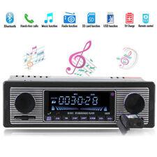 Auto Bluetooth MP3 Player USB AUX Stereo USB FM Radio In Dash Receiver+Remote