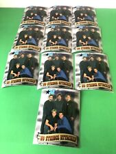 "N Sync Vintage ""No Strings Attached"" Sticker/Decal Pop Rock N Roll Lot Of 10"