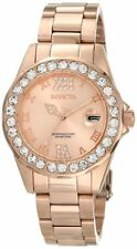 Invicta Women's 15253 Pro Diver Rose Gold Dial Stainless Steel Watch