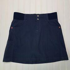 Title Nine Size 4 Navy Blue Clamber Skort Hiking Climbing Elastic Waist 150983