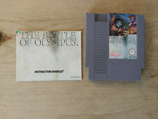 The Battle of Olympus for Nintendo NES (PAL)