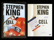 STEPHEN KING SIGNED - PSA/DNA Certified - CELL - Autographed 1st Ed / 1st Print!