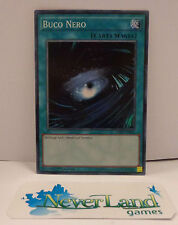 Gioco Game Yu Gi Oh ITALIANO ITA DESO Super Rara - Buco Nero -
