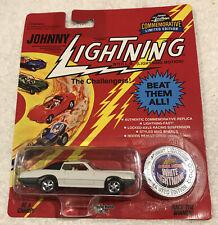 Johnny Lightning White Lightning Custom Thunderbird New On Card As Seen Rare Bp