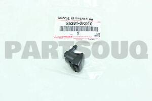 853810K010 Genuine Toyota NOZZLE SUB-ASSY, WASHER 85381-0K010