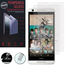 2 Films Verre Trempe Protecteur Protection Haute Qualite HTC Desire 626 S G G+