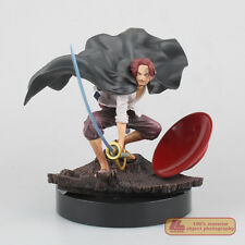 """Anime One Piece Memories Red Haired Pirates Shanks 5"""" PVC Statue Figure Toy Gift"""