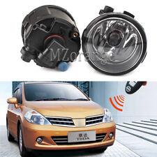 PAIR Fog Light For Nissan Tiida 09 Hatchback 04-07 C11x 07-12 Saloon SC11X 06-12