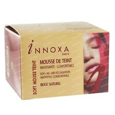 INNOXA SOFT MOUSS TEINT MOUSSE DE TEINT BEIGE NATUREL MATIFIANTE CONFORTABLE