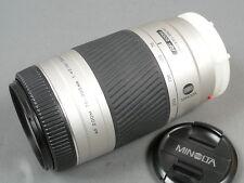 Minolta AF ZOOM 75-300/4, 5-5,6 D, ausgez. estado + Deck.