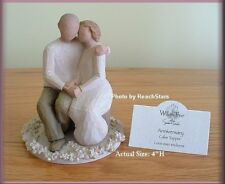 ANNIVERSARY CAKE TOPPER FIGURINE FROM WILLOW TREE® ANGELS FREE U.S. SHIPPING