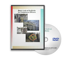 Scaffold Construction Methods Safety Educational OSHA Training DVD - C481