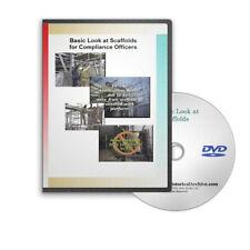 Scaffold Construction Methods Safety Educational OSHA Training DVD - C481