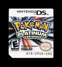 Pokemon Platinum Replacement Label Sticker glossy precut Nintendo DS USA decal
