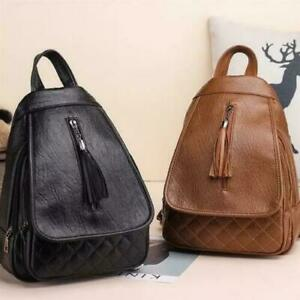 Womens Girls Backpack Anti-Theft Shoulder Bags School Travel Rucksack Handbag UK
