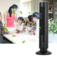 Mini Portable USB Cooling Air Conditioner Purifier Tower Bladeless Cool Desk Fan