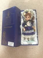 """Vintage Regency Victorian Style Collectors Porcelain Doll In Box 6"""""""