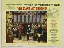 55 Days at Peking 03 Film A3 Box Canvas