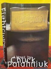 1996 Chuck Palahniuk Fight Club Hardcover Book Dj First Edition Movie New