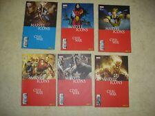 MARVEL ICONS Civil War- n° 24 à 29- Série complète- 6 COMICS