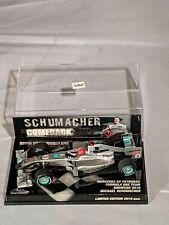 Michael Schumacher, Comeback, 7 Time WC, Mercedes GPW01, F1, 1:43 Minichamps