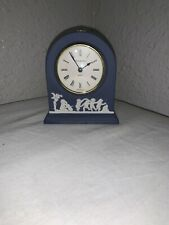 Wedgwood blue jasper mantle clock