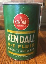 VINTAGE KENDALL A-T FLUID AUTOMATIC TRANSMISSION FLUID FULL CAN FORD Appvd Qual