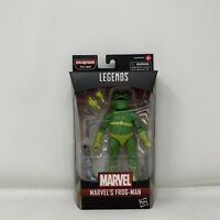 Marvel Legends Marvel's Frog-Man Spider-man Into The Spider-verse Stilt-Man BAF