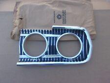 NOS Mopar 1965 Dodge Coronet Driverside LH Headlamp Bezel Door