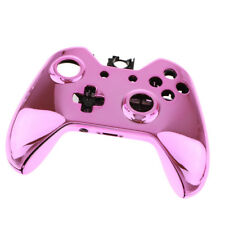 Cover Skin Protector Shell Front Housing for Xbox One E Controller Chrome Pink