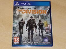 Tom Clancy La División PS4 Playstation 4 ** GRATIS UK FRANQUEO **