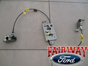 04 thru 08 F-150 OEM Ford Rear Side Door Latch & Cable Extended Cab RH PASSENGER
