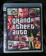 Grand Theft Auto IV - GTA 4 (Playstation 3, PS3, 2008) Complete - Clean/Tested