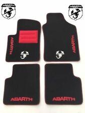 Tappetini Fiat 500 Abarth bordi personalizzabili no original 09