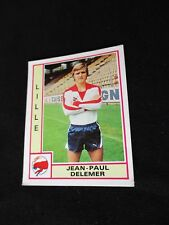 DELEMER   LILLE LOSC  image sticker N° 115  FOOTBALL 80 PANINI 1980