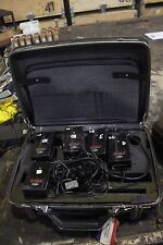 Set Of 5 Dupont Alpha 2 Air Samplers With Charger
