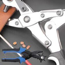 9pcs Belt Puncher Kit Belt Watch Strap Shoe Fabric Professional