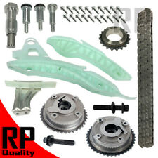 Timing Chain Kit w/ 2 Camshaft VVT Sprockets Fit 07-13 Mini Cooper Pacema L4 1.6