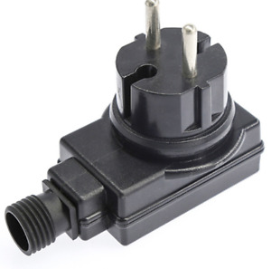 Trafo IP44 Netzteil 12V - AC-DC Adaptor - 100mA SteckernetzteilLampen
