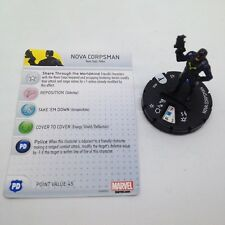Heroclix Guardians of the Galaxy Movie set Nova Corpsman #003 Gravity Feed fig!