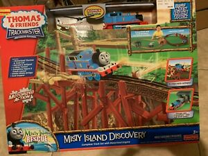 Thomas & Friends Trackmaster Misty Island Discovery Motorized Train NEW Sealed