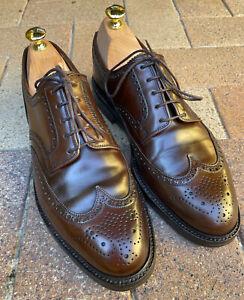 Ralph Lauren by Crockett & Jones Marlow Brown Cordovan Size 9.5D US